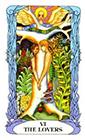 tarot-moon-garden - The Lovers