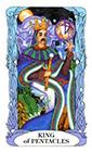 tarot-moon-garden - King of Coins