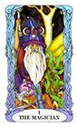 tarot-moon-garden - The Magician