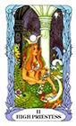 tarot-moon-garden - The High Priestess