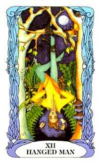 The Hanged Man Tarot Card - Tarot of a Moon Garden Tarot Deck