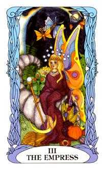 The Empress Tarot Card - Tarot of a Moon Garden Tarot Deck