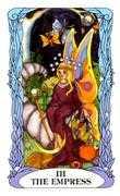 The Empress Tarot card in Tarot of a Moon Garden deck