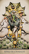 King of Chalices Tarot card in Tarot Nuages deck
