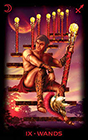 tarot-of-dreams - Nine of Wands