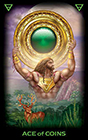 tarot-of-dreams - Ace of Coins