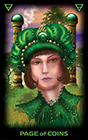 tarot-of-dreams - Page of Coins
