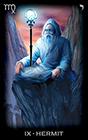 tarot-of-dreams - The Hermit