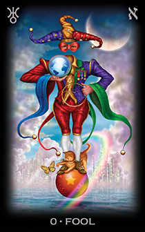 The Foolish Man Tarot Card - Tarot of Dreams Tarot Deck