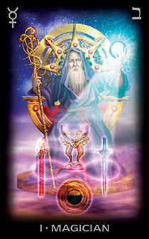The Magus Tarot Card - Tarot of Dreams Tarot Deck