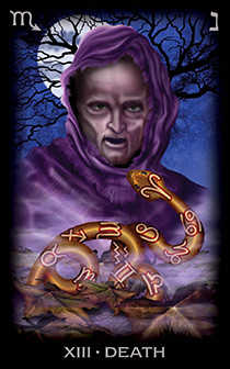 Death Tarot Card - Tarot of Dreams Tarot Deck