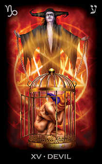 The Devil Tarot Card - Tarot of Dreams Tarot Deck