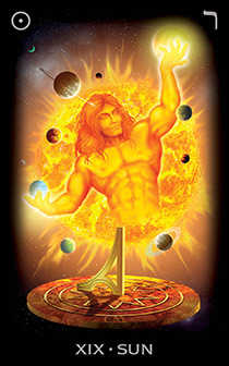 The Sun Tarot Card - Tarot of Dreams Tarot Deck