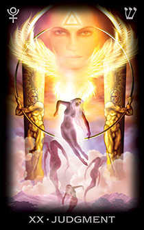 Judgement Tarot Card - Tarot of Dreams Tarot Deck