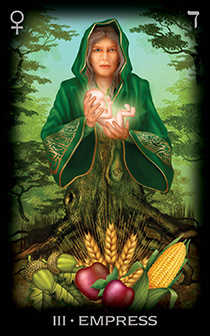 The Empress Tarot Card - Tarot of Dreams Tarot Deck