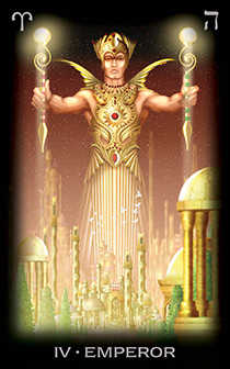 The Emperor Tarot Card - Tarot of Dreams Tarot Deck