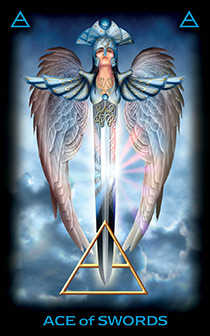 Ace of Swords Tarot Card - Tarot of Dreams Tarot Deck