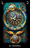 Wheel of Fortune Tarot card in Tarot of Dreams deck