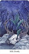 Death Tarot card in Tarot of the Golden Wheel deck