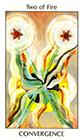 tarot-spirit - Two of Fire