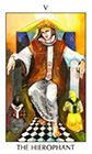 tarot-spirit - The Hierophant