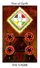 tarot-spirit - Five of Earth