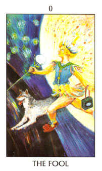 The Foolish Man Tarot Card - Tarot of the Spirit Tarot Deck