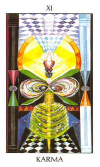 Justice Tarot Card - Tarot of the Spirit Tarot Deck