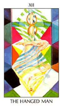 The Hanged Man Tarot Card - Tarot of the Spirit Tarot Deck