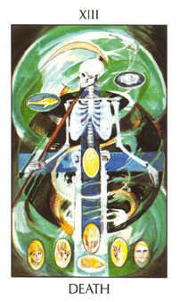 Death Tarot Card - Tarot of the Spirit Tarot Deck