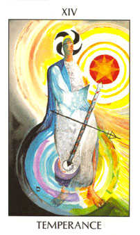 Temperance Tarot Card - Tarot of the Spirit Tarot Deck
