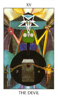 Temptation Tarot Card - Tarot of the Spirit Tarot Deck