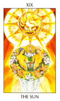 The Sun Tarot Card - Tarot of the Spirit Tarot Deck