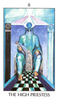 The Priestess Tarot Card - Tarot of the Spirit Tarot Deck