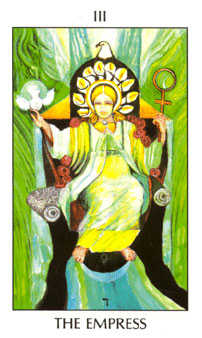 The Empress Tarot Card - Tarot of the Spirit Tarot Deck