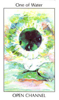 Ace of Water Tarot Card - Tarot of the Spirit Tarot Deck