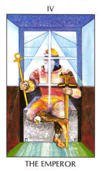 The Emperor Tarot Card - Tarot of the Spirit Tarot Deck