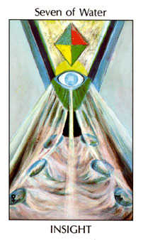 Seven of Ghosts Tarot Card - Tarot of the Spirit Tarot Deck