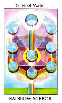Nine of Bowls Tarot Card - Tarot of the Spirit Tarot Deck