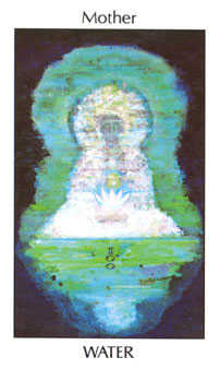 Queen of Ghosts Tarot Card - Tarot of the Spirit Tarot Deck