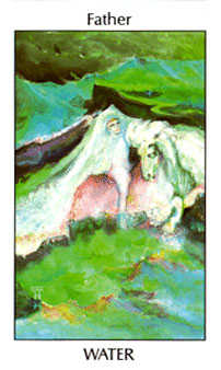 King of Hearts Tarot Card - Tarot of the Spirit Tarot Deck