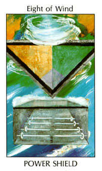 Eight of Spades Tarot Card - Tarot of the Spirit Tarot Deck
