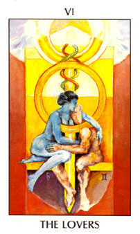 The Lovers Tarot Card - Tarot of the Spirit Tarot Deck