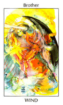 Cavalier of Swords Tarot Card - Tarot of the Spirit Tarot Deck