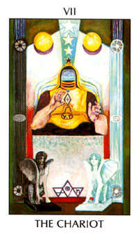 The Chariot Tarot Card - Tarot of the Spirit Tarot Deck