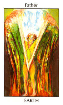 King of Pumpkins Tarot Card - Tarot of the Spirit Tarot Deck