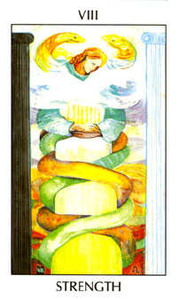 Strength Tarot Card - Tarot of the Spirit Tarot Deck