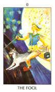The Fool Tarot card in Tarot of the Spirit Tarot deck