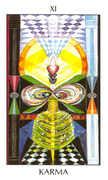 Karma Tarot card in Tarot of the Spirit Tarot deck