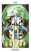 Death Tarot card in Tarot of the Spirit Tarot deck